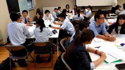 学生との座談会